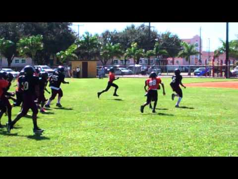 BETTER EVERY DAY!!! Sarasota Seminole Pee Wees - #1 Brian Battie TD trot!