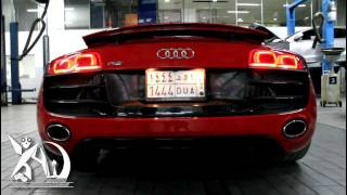 Audi R8 V10 Tubi Style Exhaust System.mp4
