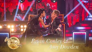Brian Conley & Amy Dowden Paso Doble to 'I Believe In A Thing Called Love' - Strictly 2017