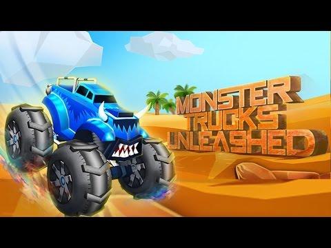 Monster Trucks Unleashed  Lumia Gameplay
