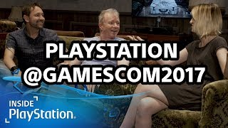 PlayStation @ Gamescom 2017 mit Jim Ryan (Sony Europe Präsident) und Inside PlayStation