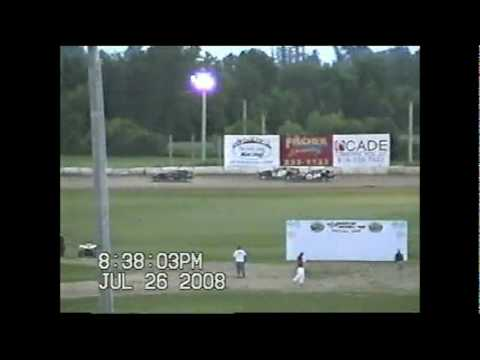 2008 Freeport Raceway Park dirt modified feature racing