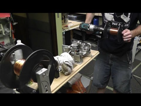 How To Clean & Straighten Used Magnet Wire From CRT Degauss Coil's! USE YOUR RESOURCES!!