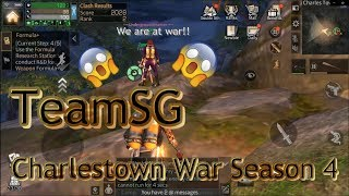 Lifeafter Charlestown Clash War PVP TeamSG, season 4
