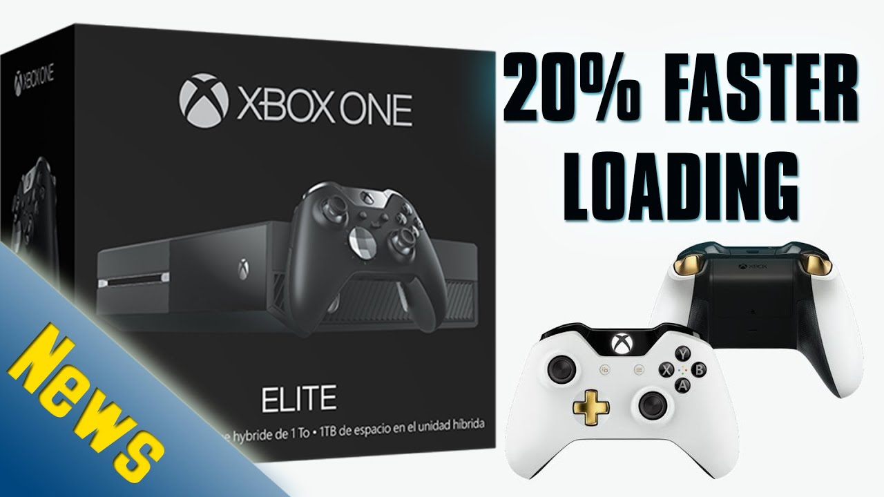 New 1tb SSHD Xbox One Loads 20 Percent Faster Elite Controller Bundle Video Game News