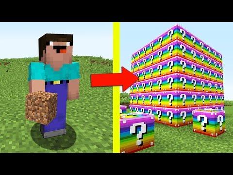 НУБ ПРОТИВ ЛАКИ БЛОКОВ В МАЙНКРАФТ 9 ! Мультик Майнкрафт Minecraft - Видео из Майнкрафт (Minecraft)