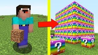 НУБ ПРОТИВ ЛАКИ БЛОКОВ В МАЙНКРАФТ 9 ! Мультик Майнкрафт Minecraft