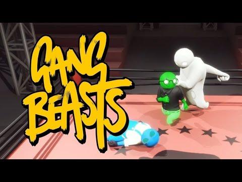 Веселая игра про смешных человечков GANG Beasts
