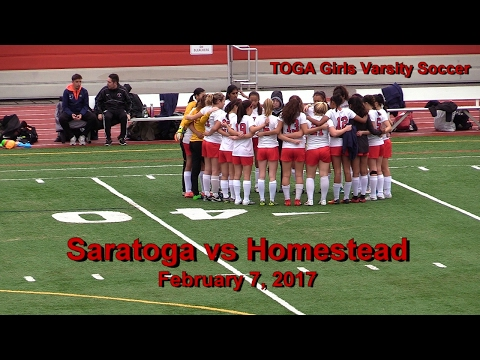 Saratoga vs Homestead - 2/07/2017 - Girls Varsity Soccer