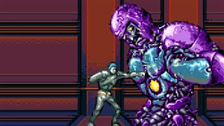 X-Men The Official Game (GBA) - All Bosses (No Damage)