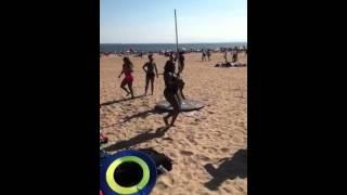 On Coney Island ladies like play Tubo8-2014.