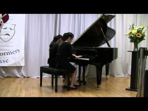 Faure. Dolly Suite. Mi-a-ou.  Piano Duet