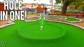 Crazy Mini Golf Hole In One And Awesome Holes Here!
