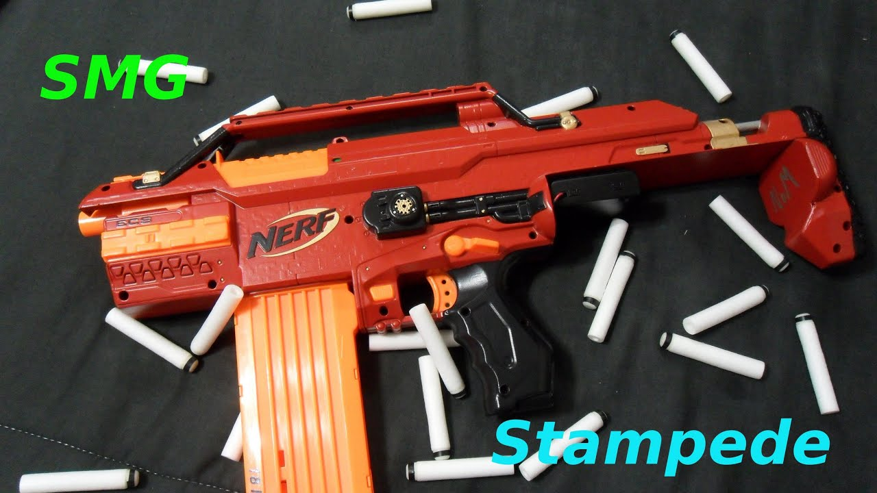 Smg Nerf Stampede 3 Youtube