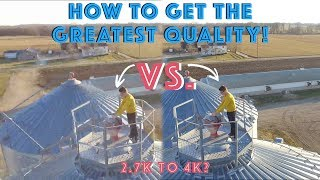 How to Get the Greatest Video Quality From a DJI Phantom 3 Standard! (OR Any DJI Drone)