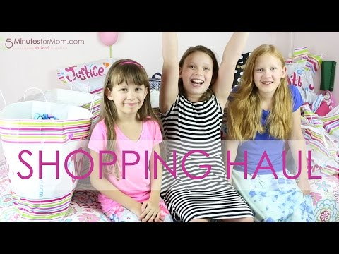 Justice Shopping Haul - Back to School