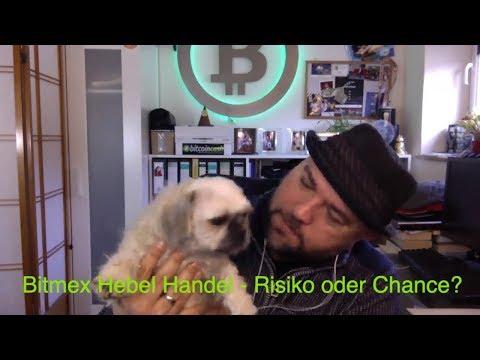 Im Bitcoin Bärenmarkt Geld verdienen durch Bitmex Hebel Handel
