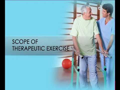 Definition and Scope of Therapeutic Exercise