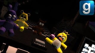 Gmod FNAF | THE CHICA PLUSH HAS BEEN FOUND! (FNAF 2 Map)