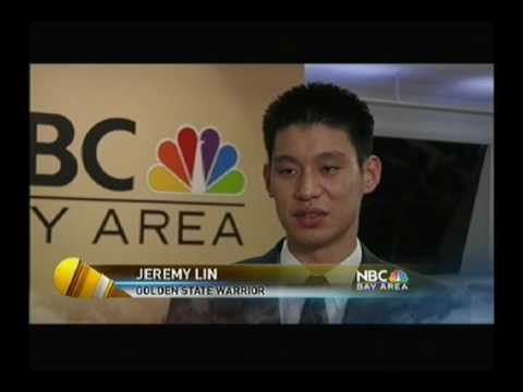 Jeremy Lin - NBC Bay Area News (July 25th, 2010) Part #1 - The buzz from Asian Americans