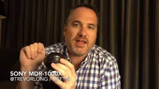 review sony mdr 1000x noise cancelling headphones