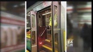 Door Ripped Off Green Line Trolley In Boston