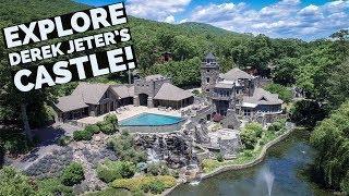 A Fascinating Look Inside Derek Jeter's Castle in Greenwood Lake, NY