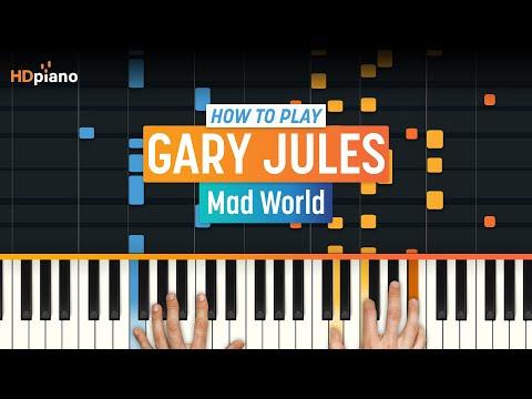 Mad World  Gary Jules  HDpiano Part 2