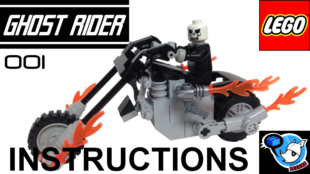 Lego Ghost Rider Set Instructions Youtube