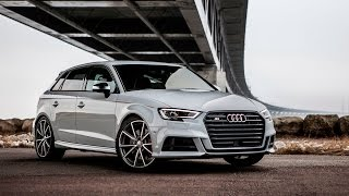 2017 audi s3 sportback facelift 310hp launch control exterior interior etc
