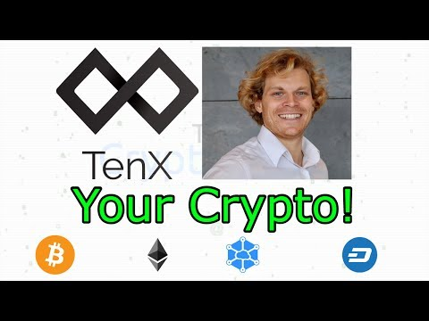 LIVE Interview With Dr. Julian Hosp CVO From TenX (The Cryptoverse #292)