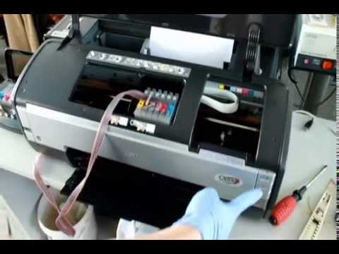 Insatllation Ciss For Epson Stylus Photo 1400 Inkjet