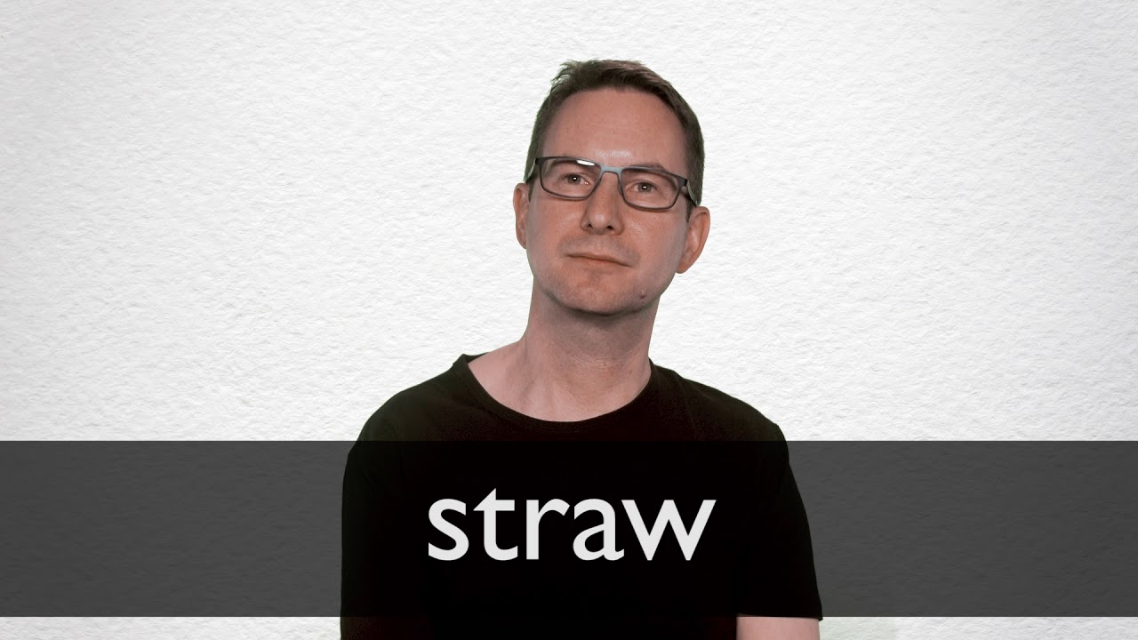 Straw definition and meaning   Collins English Dictionary
