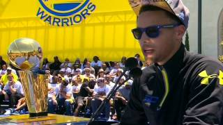 Stephen Curry Thanks All The Fans For The Support