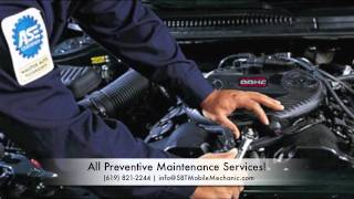 san diego mobile mechanic oil change tune up service   ase certified