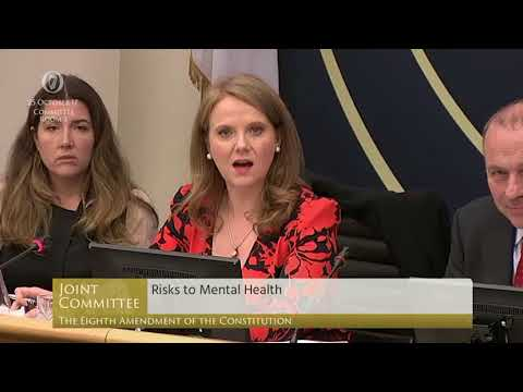 Mattie McGrath storms out of Eighth Amendment committee