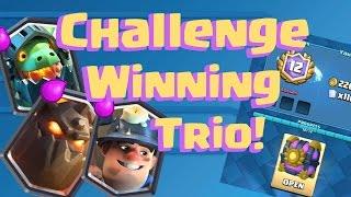 lava hound inferno dragon miner legendary challenge winning deck
