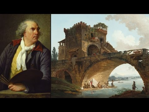 French painter Hubert Robert on display at the National Gallery