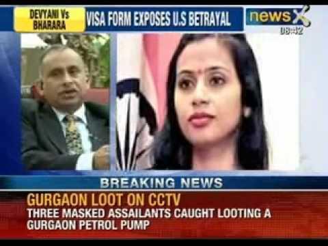 Visa Form exposes US Betrayal over Devyani Khobragade. Will Bharara Apologise now?