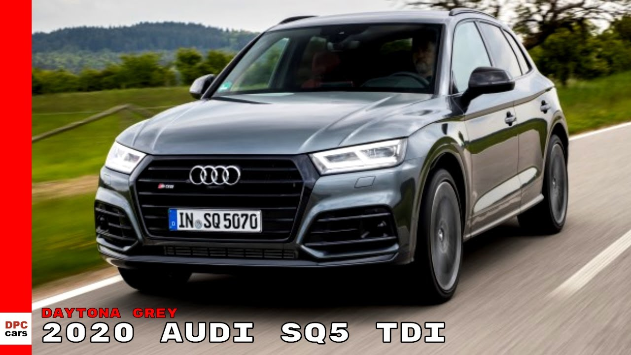 2020 Audi Sq5 Review.2020 Audi Sq5 Tdi Daytona Grey