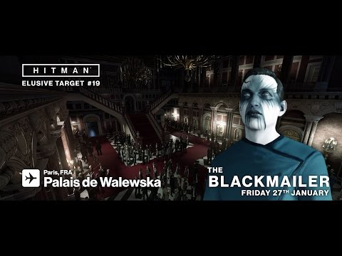 HITMAN Elusive Target #19 The Blackmailer