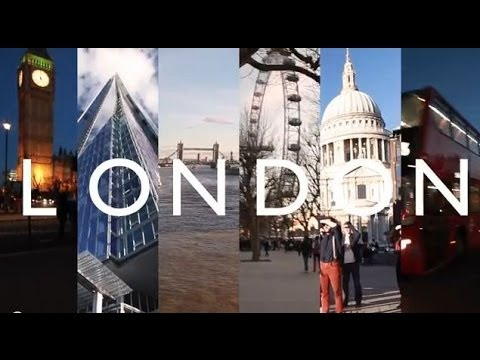 Pharrell Williams - HAPPY - LONDON - #HAPPYDAY