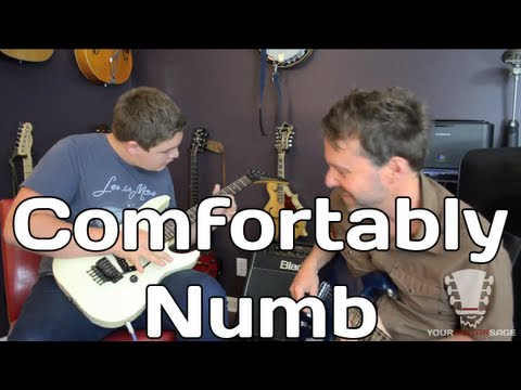 Comfortably Numb Guitar Jam - Pink Floyd - Blues & Minor Improvisation