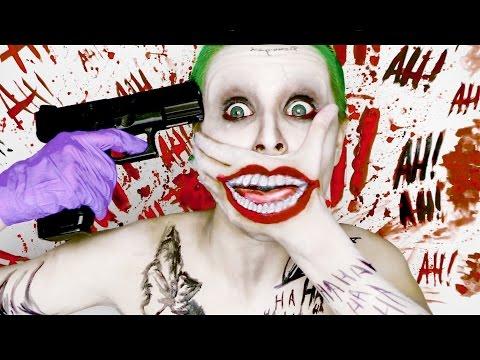 Joker SUICIDE SQUAD ♤ (make up tutorial) DC Comics
