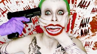 Joker SUICIDE SQUAD ♤ (make up tutorial) DC Comics