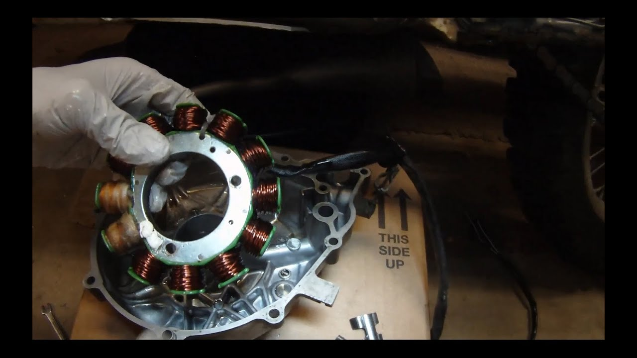 hight resolution of xr600r stator replacement