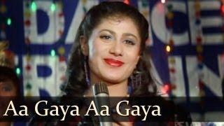 Aa Gaya Aa Gaya Halwawala - Mithun - Smita Patil - Dance Dance - Bollywood Party Songs