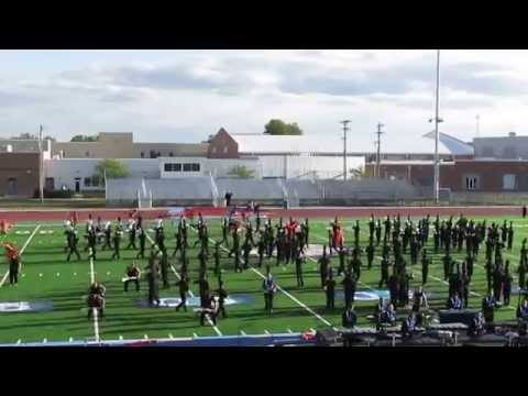 "Whiteland Community High School Marching Warriors' ""Five"" 9/12/15"