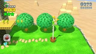Super Mario 3D World 2-3 Speedrun - Time: 27 (Tied WR)