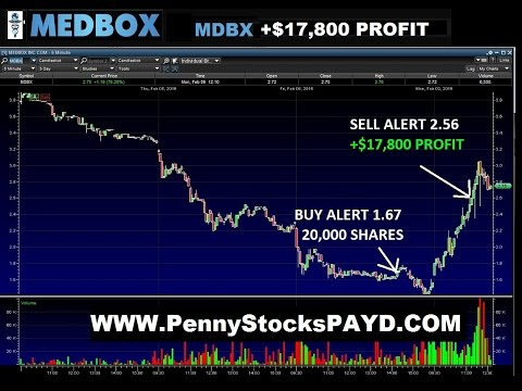 MDBX Medbox Inc +$17,800 in ONE TRADE Explained Penny Stocks Trading 2-9-15